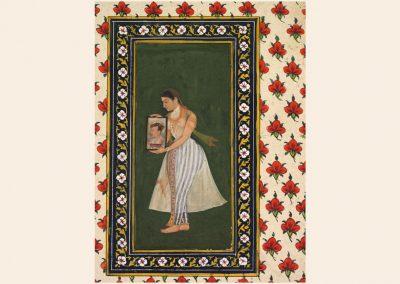 Nur Jahan, Holding a Portrait of Emperor Jahangir